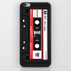 1980's Mix Tape Cassette iPhone & iPod Skin