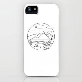 Pacific Northwest 2 iPhone Case