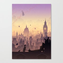 Wind's In The East... Canvas Print
