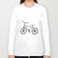 bike Long Sleeve T-shirts featuring Bike by Kristijan D.