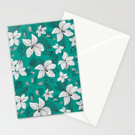 Avery Aqua Stationery Cards