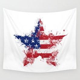Artistic LXXXIX - Americana Star III Wall Tapestry
