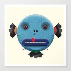 Mickley heads 01 Canvas Print
