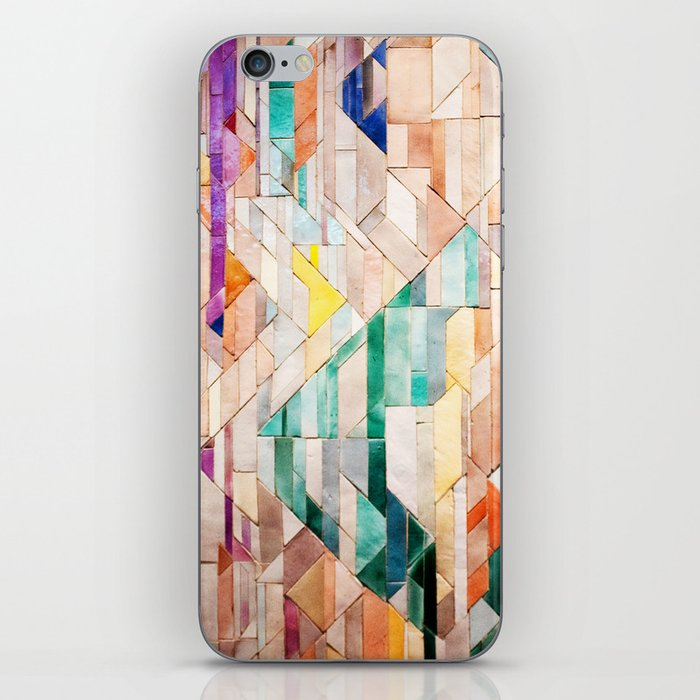 Pastel Tile Mosiac 1 iPhone Skin