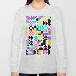 RAND PATTERNS #93: Procedural Art Long Sleeve T-shirt