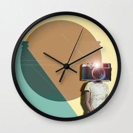 The Cameraman Wall Clock
