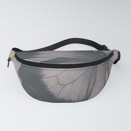 Damask Butterfly Fanny Pack