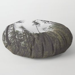 Pacific Northwest Forest Floor Pillow