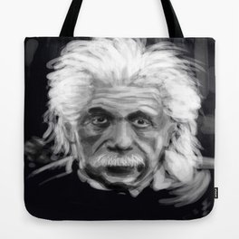 Speed Portraits: Einstein Tote Bag