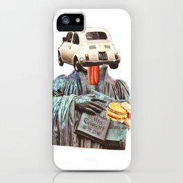 Normal Life · Der Glaube und das Auto iPhone Case
