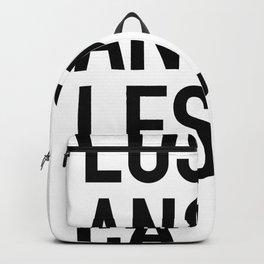 Type Los Angeles, CA Backpack
