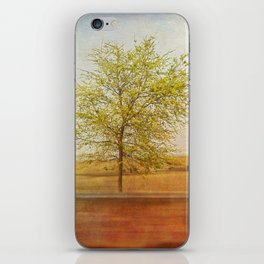 Lonely tree.I iPhone Skin