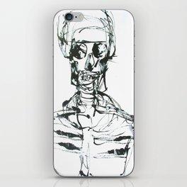 INK SKELETON iPhone Skin