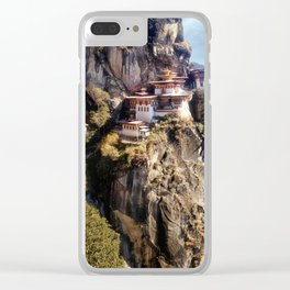 Taktshang Goemba - Tiger's Nest Monastery Clear iPhone Case