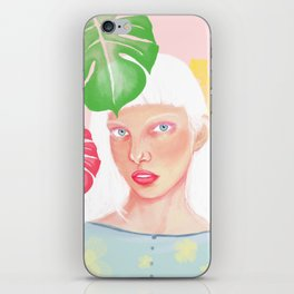 Albino Girl iPhone Skin