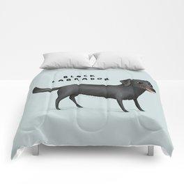 Black Labrador Comforters