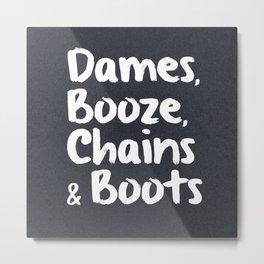 Dames Metal Print