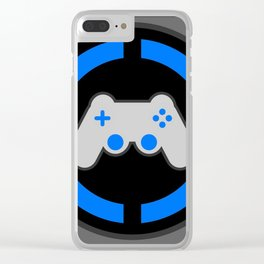 Playstation Gamer Clear iPhone Case