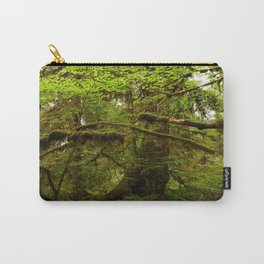 The Opulence Of The Rainforest Carry-All Pouch