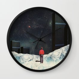 You never came Back for Me Wall Clock