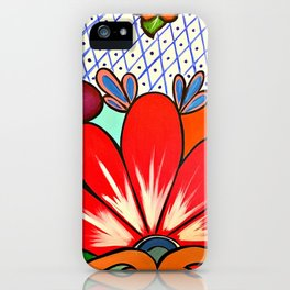 Talavera Tile iPhone Case