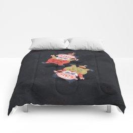 Tweedledee and Tweedledum - Alice in Wonderland Comforters
