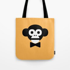 smart monkey Tote Bag