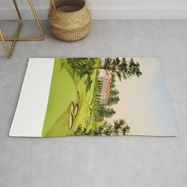 The Olympic Golf Course 18th Hole Rug