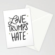 Love Trumps Hate Stationery Cards