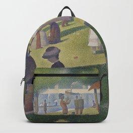 A Sunday on La Grande Jatte,  Georges Seurat Backpack
