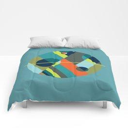 Scenarios, No. 2 on Blue Comforters