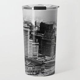 Michigan Avenue in Chicago (1911)  Travel Mug