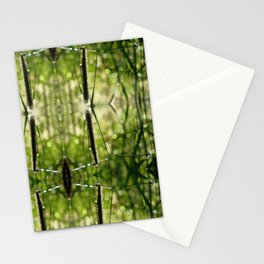 Magic doorway okra Stationery Cards