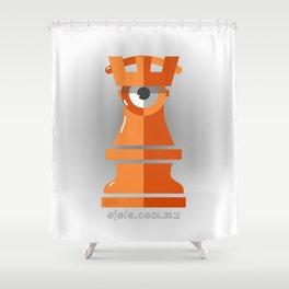 castle[ye] Shower Curtain
