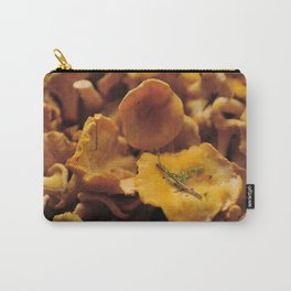 Chantarelle mushrooms. Carry-All Pouch