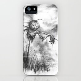 The Makeshift Scarecrow iPhone Case