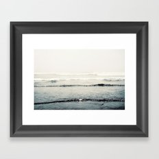 The Sound of the Sea Framed Art Print