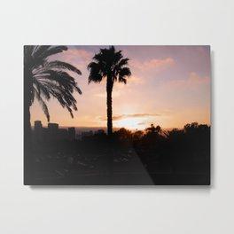 San Diego Sunset Metal Print