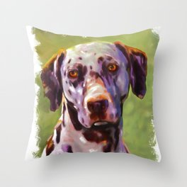 Dalmas  Throw Pillow