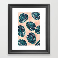 CALIFORNIA TROPICALIA Framed Art Print