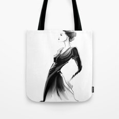 black. Tote Bag