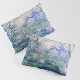 "Claude Monet ""Water Lilies(Nymphéas)"" (9) 1916–19.jpg Pillow Sham"