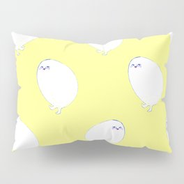 Golden Egg Legs Pillow Sham
