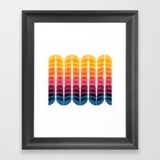 Metamorphosis Pattern Framed Art Print