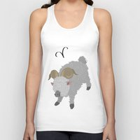aries Tank Tops featuring Aries by Rejdzy