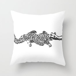 alligator Throw Pillow
