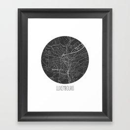 Luxembourg Framed Art Print