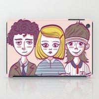 tenenbaums iPad Cases featuring Tenenbaums by Pilotinta