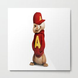 Alvin the awesomeness chipmunk Metal Print