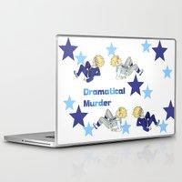 dramatical murder Laptop & iPad Skins featuring Virus and Trip ( Dramatical Murder) by SpigaRose